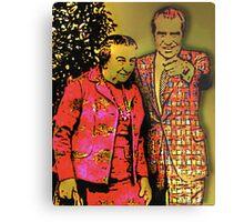 Dick & Golda Metal Print