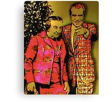Dick & Golda Canvas Print