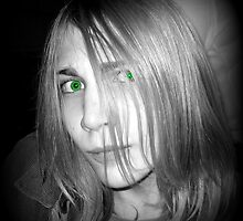 Green Eyes and Hair that I Love by Debbie Robbins
