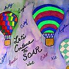 Let's Continue To Soar by RaquelMorales