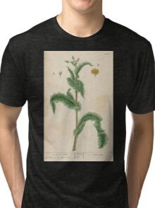 A curious herbal Elisabeth Blackwell John Norse Samuel Harding 1737 0086 Prickly Sow Thistle Tri-blend T-Shirt