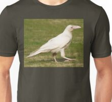 """Dare To Be Different"" (Rare White Raven) Unisex T-Shirt"