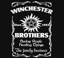Winchester brothers since 1983 Unisex T-Shirt