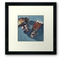 Midnight Oil Framed Print