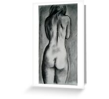 Small Nude Study Greeting Card