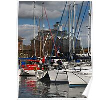 'Easily Led' (2), Ipswich Waterfront Poster