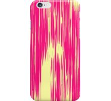 Modern Pink & Yellow Abstract Shards iPhone Case/Skin