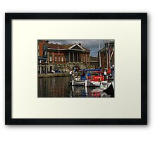 Happy Dayz by the Ipswich Customs House Framed Print