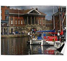 Happy Dayz by the Ipswich Customs House Poster