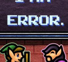 I am Error Sticker