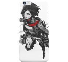 Mikasa Ackerman - Shingeki No Kyojin iPhone Case/Skin
