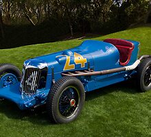 1934 Lucenti Indy Race Car by Timothy Meissen