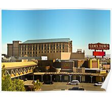 Sam's Town Hotel and Casino, Las Vegas Poster