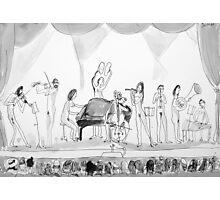 nude recital Photographic Print