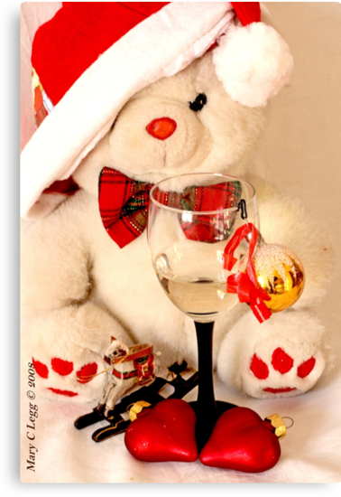 Romantic Christmas for Mr Teddy Bear by pogomcl