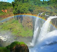 Iguazu Rainbow by naturalnomad