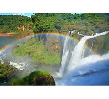 Iguazu Rainbow Photographic Print
