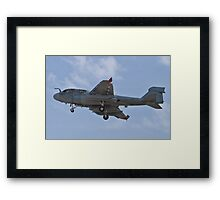 A6 Prowler returning to Nellis Air Force Base Framed Print