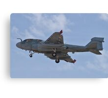 A6 Prowler returning to Nellis Air Force Base Canvas Print