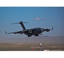 C-17 Globemaster III landing during 2009 Aviation Nation Photographic Print
