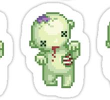 zombie hoard Sticker