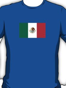 Mexcian Flag - World Cup Football - Mexico T-Shirt Bedspread Sticker T-Shirt