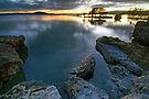 Sunrise, Lake Rotorua by Michael Treloar