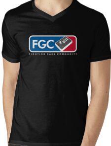 Fighting Game Community Member Mens V-Neck T-Shirt