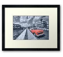 Red Havana  Framed Print