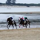 Horse Race in Sanlucar de Barrameda by fototaker