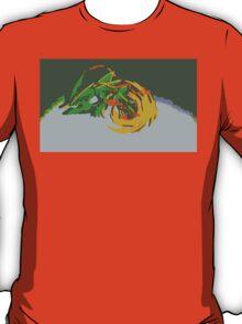 """""""Minimalistic Pokemon - Mega Rayquaza """" by limitedskins.com T-Shirt"""