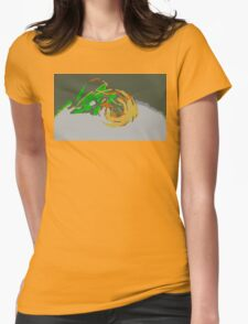 """Minimalistic Pokemon - Mega Rayquaza "" by limitedskins.com Womens Fitted T-Shirt"