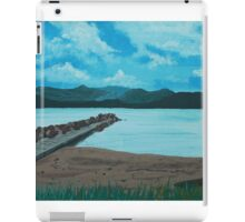 Angry Beach Painted iPad Case/Skin