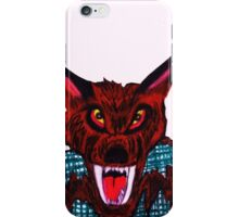 VICIOUS WEREWOLF iPhone Case/Skin
