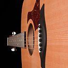 Taylor guitar  by Sonya Byrne