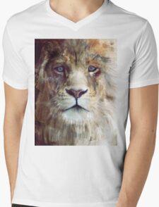 Lion // Majesty Mens V-Neck T-Shirt
