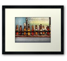 Chemistry - The Samples  Framed Print