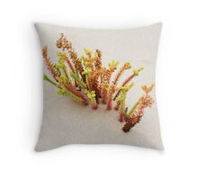 dune flora Throw Pillow