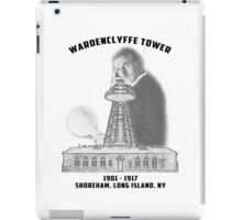 Tesla Tower iPad Case/Skin