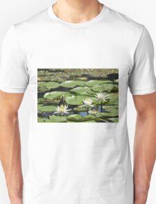 Lotus (aka Asian Water Lilly) Unisex T-Shirt