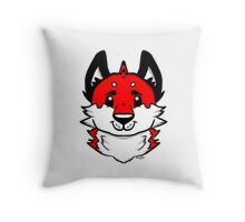 Puppy Fuse Throw Pillow