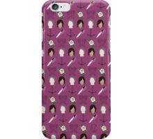 CARYL Mini Symbols - Magenta iPhone Case/Skin