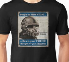 He Fights For Your Freedom! - NCR Unisex T-Shirt