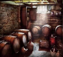 Hobby - Wine - The Wine Cellar  by Mike  Savad