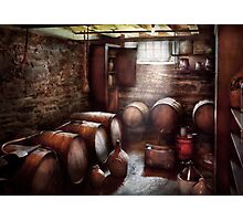 Hobby - Wine - The Wine Cellar  Photographic Print