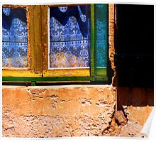 Lace and Shutters - Provencal Afternoon Poster