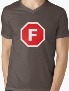 F-Stop Mens V-Neck T-Shirt