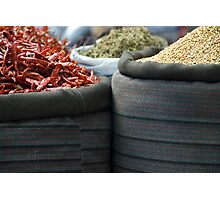 curry spices Photographic Print