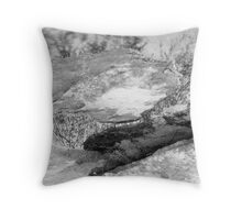 Landscape puzzle Throw Pillow