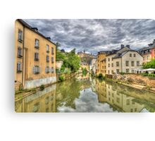 Reflections from Munster Canvas Print